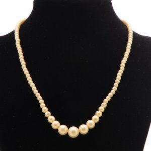 Jewelry - Petite Faux Pearl Choker Necklace